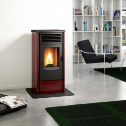 Piazzetta Superior Cleo forced air pellet stove