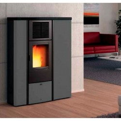 Piazzetta Superior Lia pellet stove ductable forced ventilation
