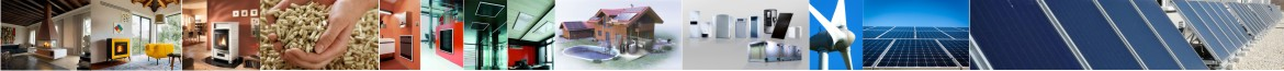 Solar thermal, photovoltaic, heating, biomass, air conditioning